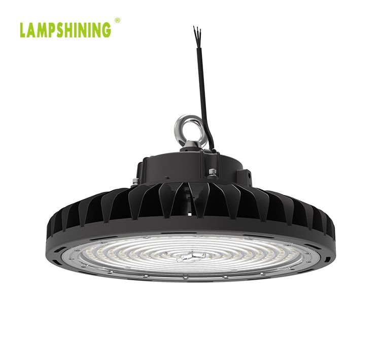 240W Dimmable 90 120 degree lens Slim Fins UFO LED High Bay Lighting wholesale