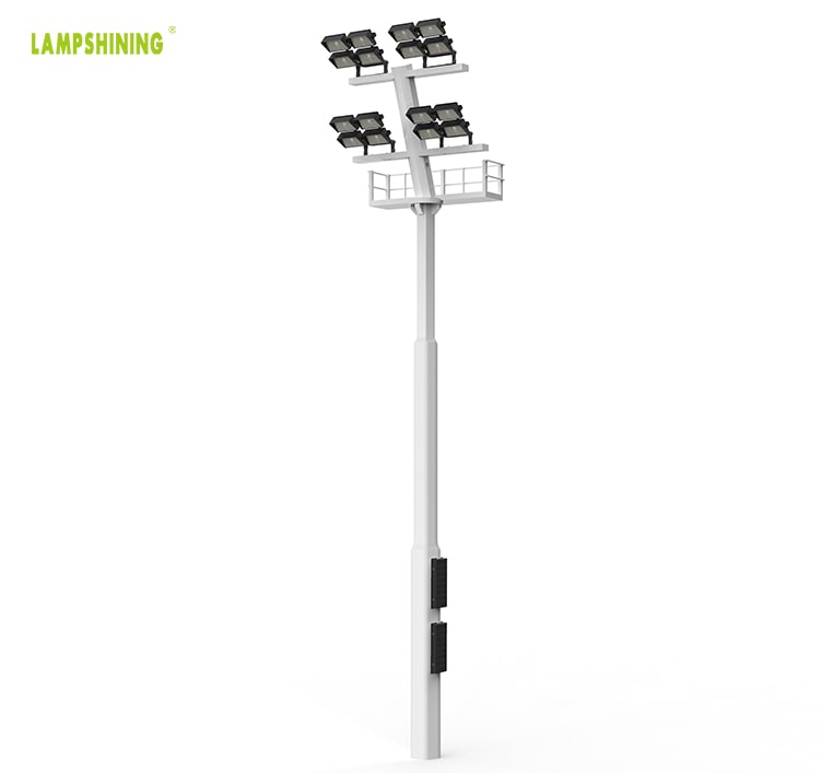 High Power 960W LED Stadium Light Fixtures - Outdoor Area Pole Flood Lighting