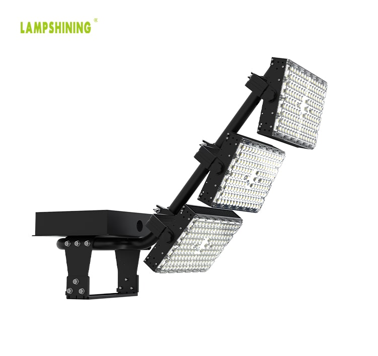 720w LED Stadium Sports High Mast Flood Light - High Efficiency Waterproof Bracket Lighting Fixtures