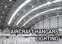 The Best LED Light Fixture for Aircraft Hangars Lighting