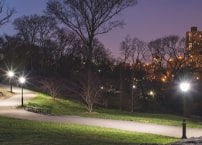 How to choose public park and garden lighting?