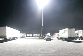 Case of Slim Pro LED High mast Light for Outdoor Parking Lot Lighting