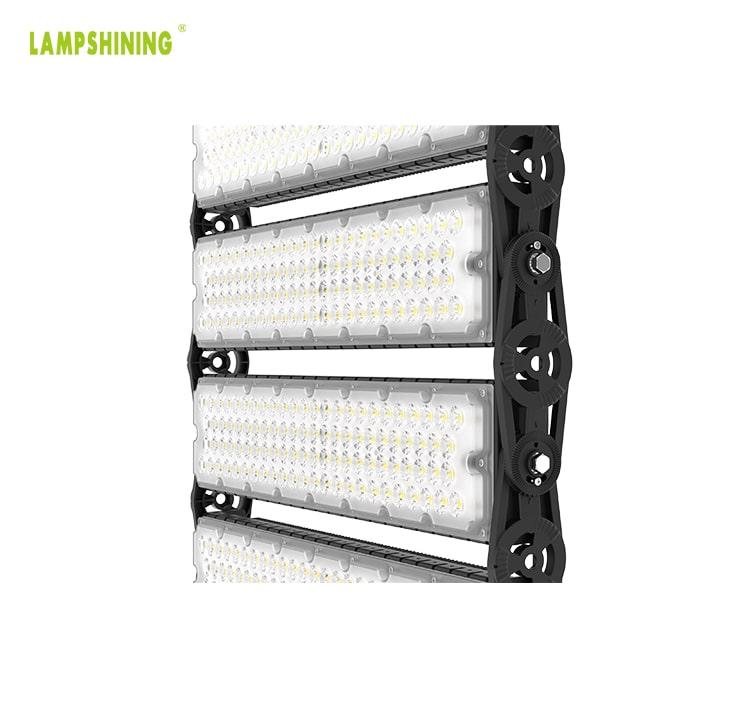 800W 128000lm LED Sports Light Fixture - Football, Golf Course, Seaport Lighting