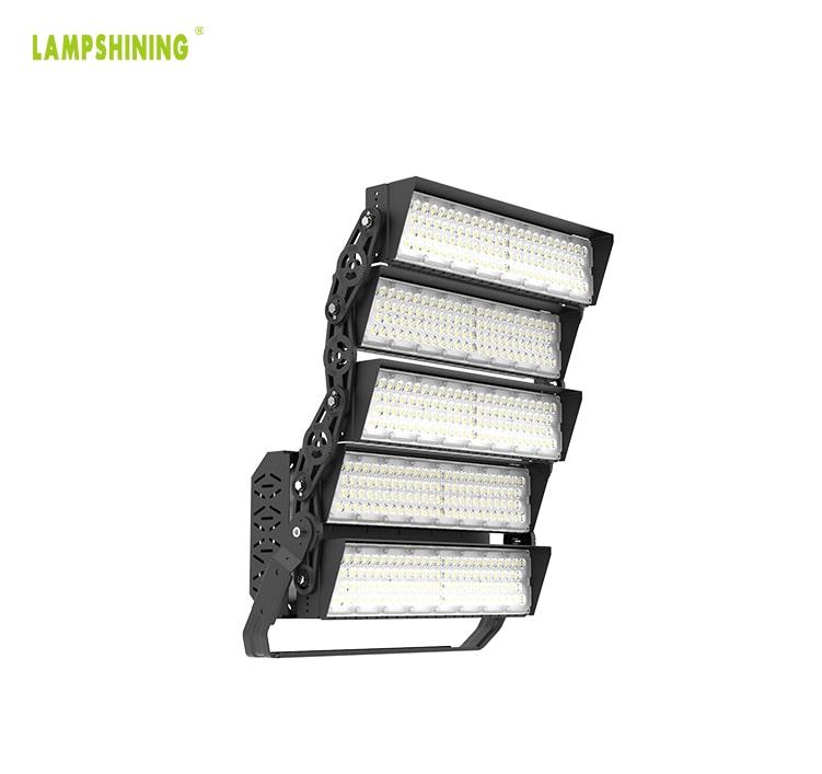 1000W 160000lm LED High Pole Light - Public-Park, Handball, Rugby-Field, Skate-Park Light