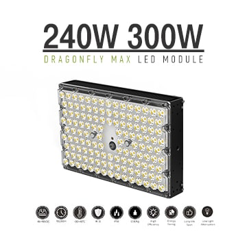240W/300W Dragon MAX LED Light Module - Orsam 5050 - 170-200Lm/W - 46‐48VDC