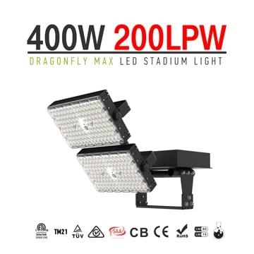 400W Dragonfly Max LED Sports Lighting, Football, Basketball, Soccer, Stadium Light