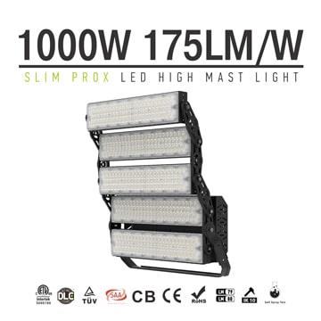 1000W 160000lm Slim ProX LED High Pole Light - Public-Park, Handball, Rugby-Field, Skate-Park Light