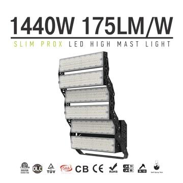 High Power 1440W Slim ProX LED High Mast Light, Flood Lights, High Pole Energy-saving LED Lights