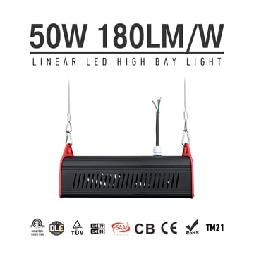 50W LED Linear High Bay Light 9000Lm CE RoHS