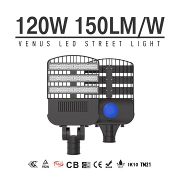 Best LED Street/Area Light 120w Rotatable Philips Chip Street Lighting, Equivalent 400W HPS,MH,HQI