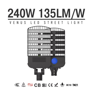 240W LED High power Outdoor Street Retrofit Light Head replaceable 750W HPS/ Metal Halide Lamp
