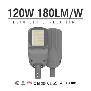 120w LED Street Light 180lm/W, meanwell driver Outdoor energy saving LED Lighting