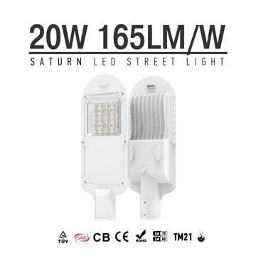 20W LED Street Light, Low Power High Lumens Mini Rural Roadway Lighting Retrofit