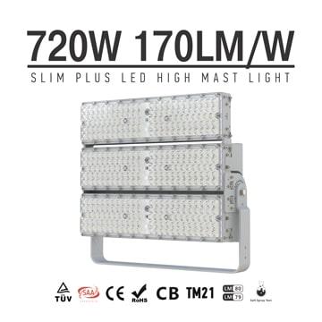 720W 900W LED High Mast Light | Outdoor High Power P50 Anti‐glare LED Lighting