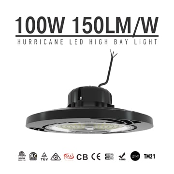 100W 15000Lumens Sosen UFO LED High Bay Warehouse light