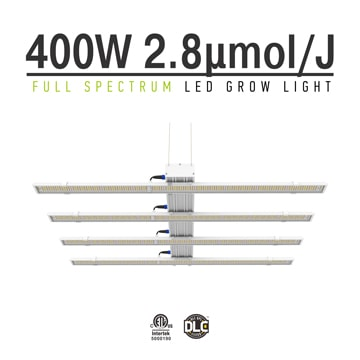 LED Grow Lights 400W - Full Spectrum LED Plant Grow Light for Sale