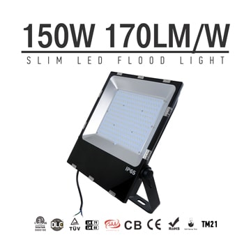 150W LED Flood Light Fixtures 18000Lm Waterproof SAA Ctick CE RoHS