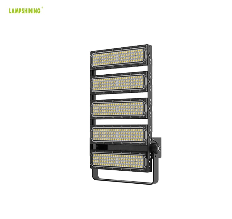 240W 40800lm LED Flood Light for Sale, Warm White 6 Modules AC100-277V Lamp, 600w HPS Equivalent