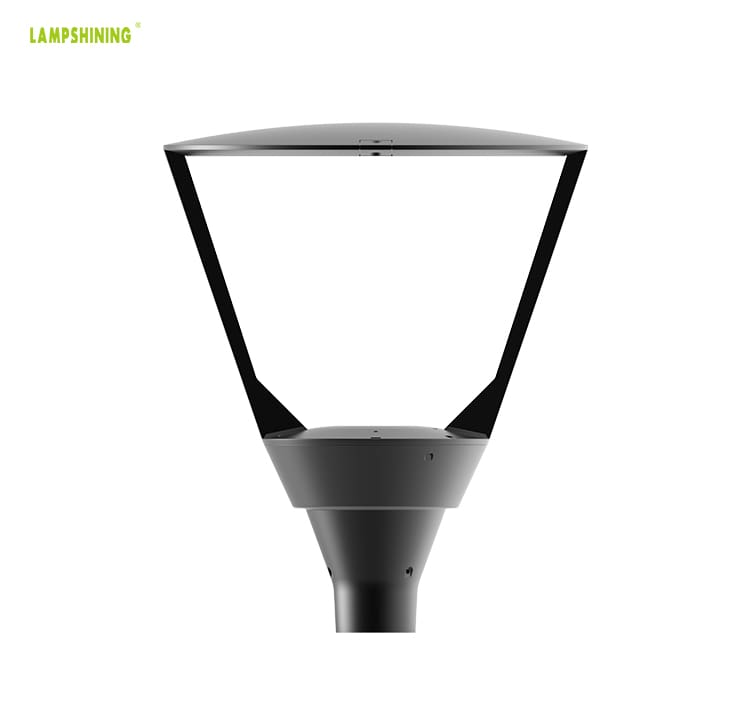 40W Outdoor LED Post Top Light Wholesale - Modern Exterior Post Lighting Fixture with 3.3-Inch Mounting holes