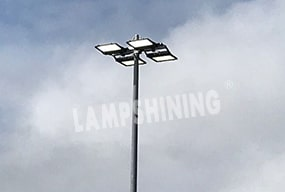 Netball Courts LED Flood Lighting - Lighting Case Project Sharing