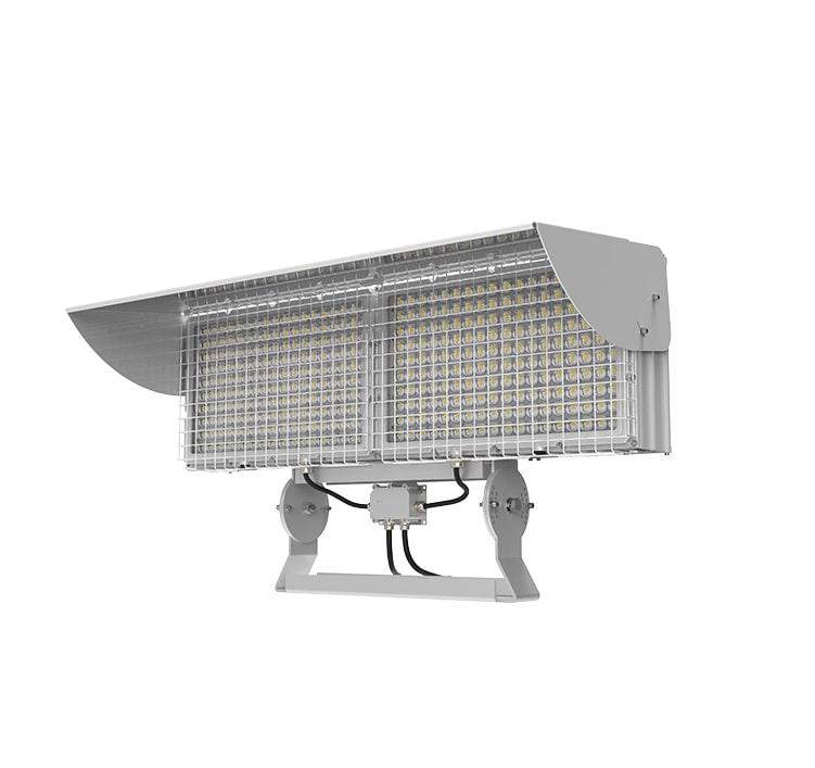 1200W High Power Square LED Stadium Light - Low-Glare 180-277V Outdoor Waterproof Sports Arena Flood Light