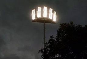 1440W Sports Park Athletics field LED Lighting- Lighting Case Project Sharing
