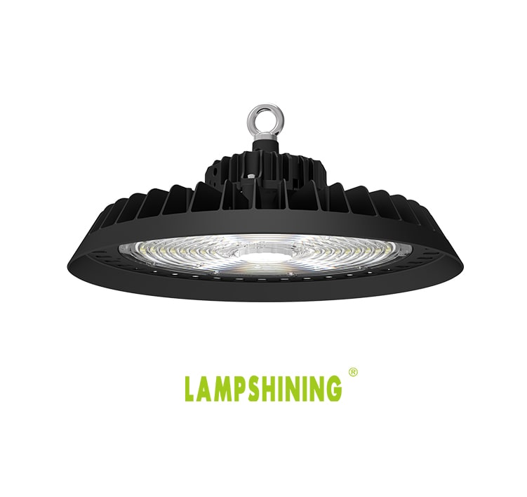 200W UFO LED High Bay Light with Pluggable sensor, Easier to stock Toll Station,Indoor Sport Hanging lamp