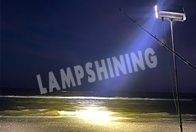 Case of 480W 10 degree Slim Plus LED High Mast Light for USA Outdoor Fishing Ground