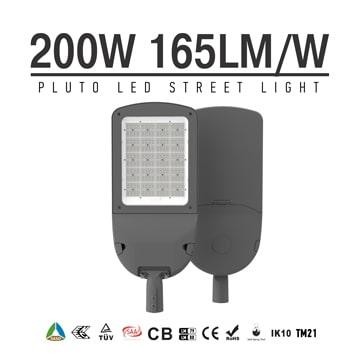 Aluminium 200 Watt LED Street Light 33000LM - Commercial Outdoor 100-277VAC Security  Lighting