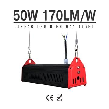 50W LED Linear High Bay Light 8500Lm CE RoHS