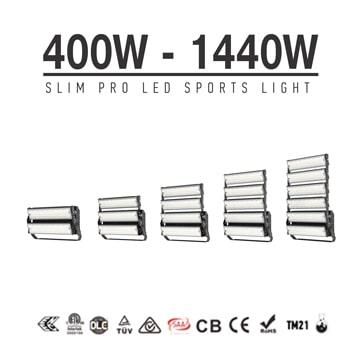 480W-1440W LED High Mast Area Flood Light - High uniform illumination High Power Sport Light Fixtures