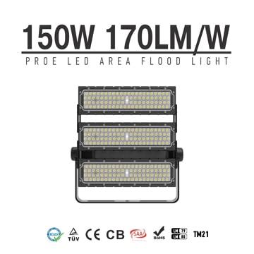 Best Outdoor 150 Watt led Flood Light - 3 module 25,500lm 120V 240V 3000K 6000K Waterproof Security Lighting