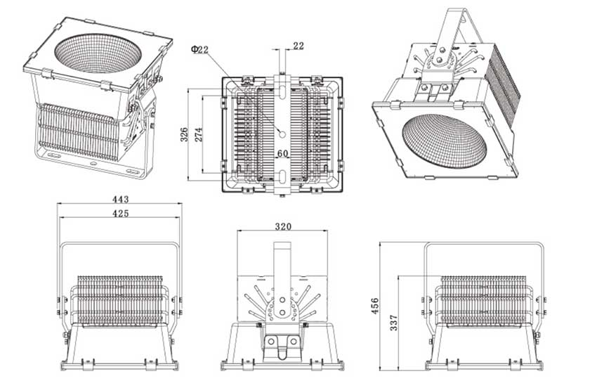 650W LED stadium light size.jpg