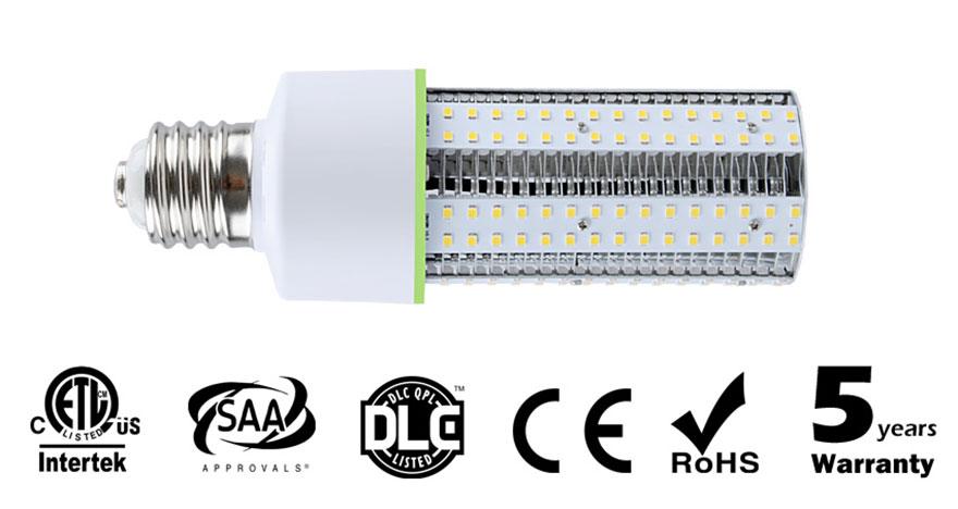 E40 E39 E27 E26 30w led corn bulbs for indoor and outdoor