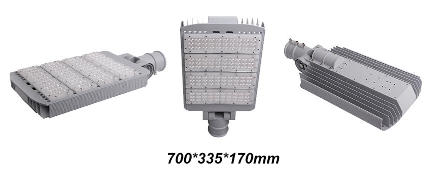 200W LED Street Lights size