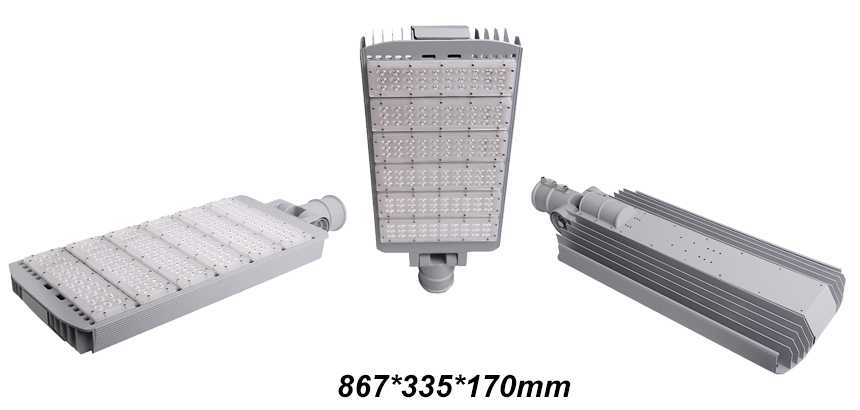 LED Street Lights 300W Rotatable Heads size