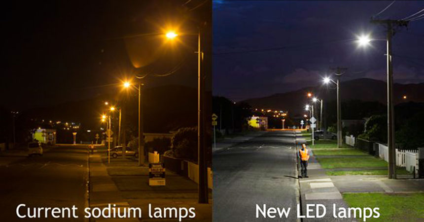 LED Street Lights 150W application