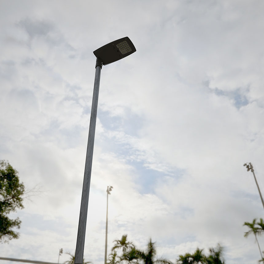 80w mars series led street light application