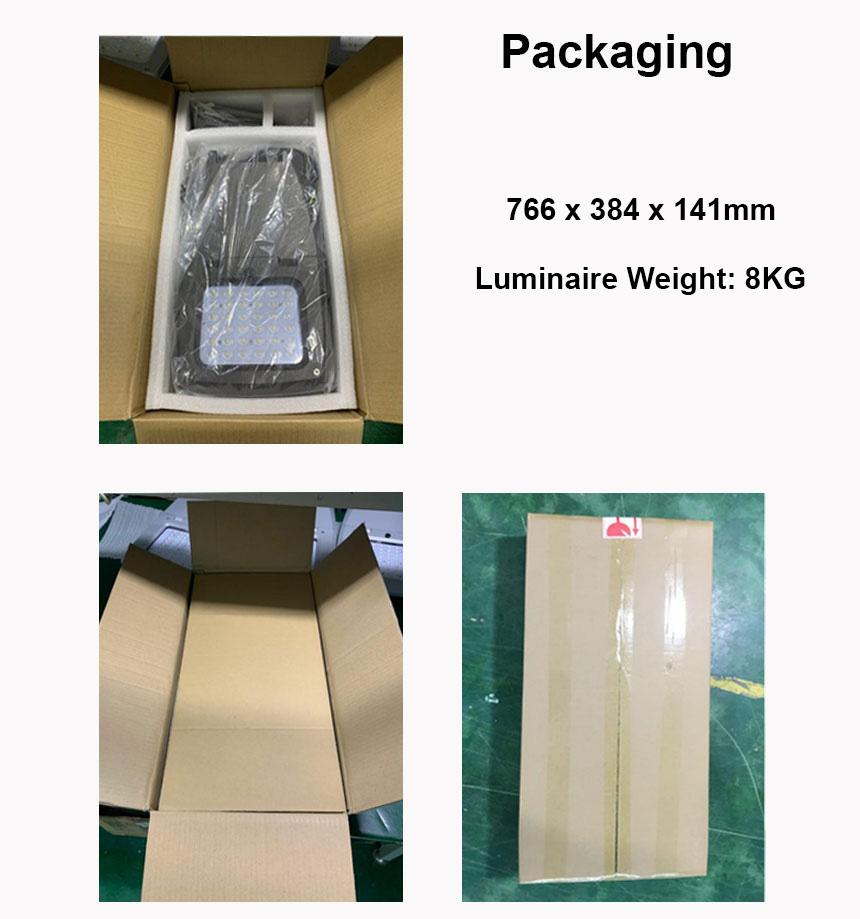 200W LED Street Light Head packaging