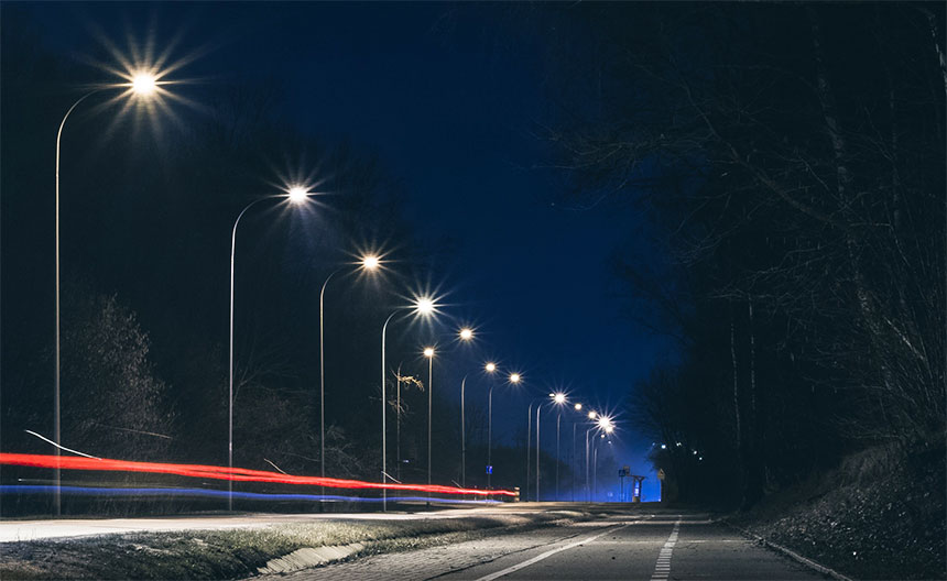 LED Street Lights 150W application
