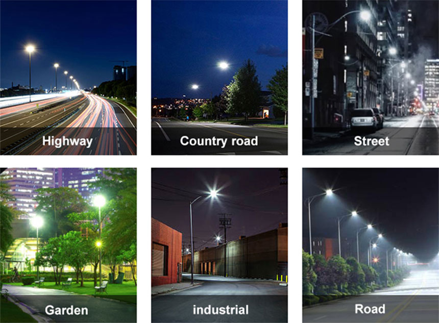 100w LED Street Lamps application