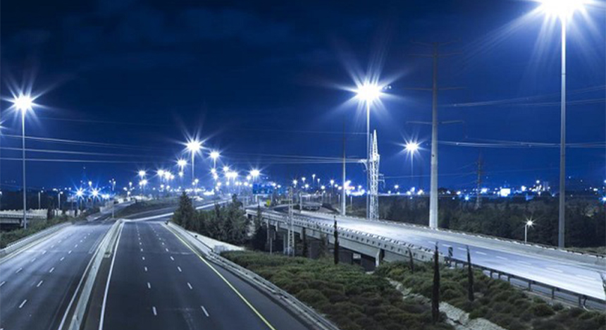 choose color temperature of the LED street light
