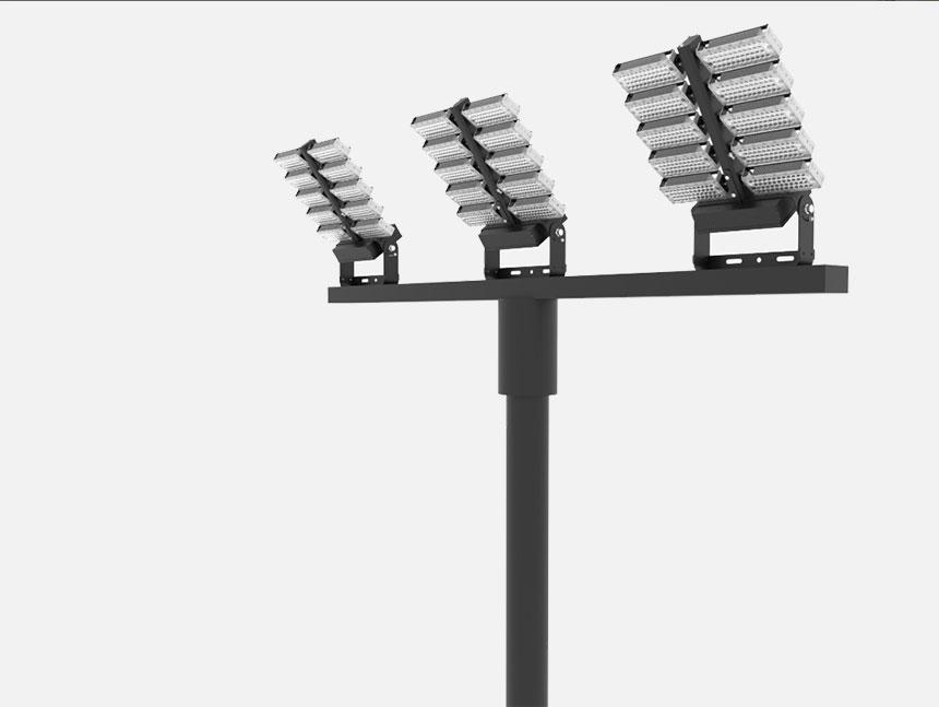 800w adjustable module transformer led high mast stadium light