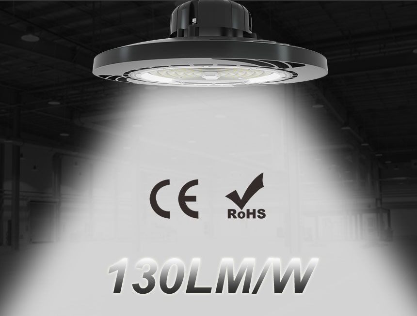 130lm/w ce rohs daermay driver 100w ufo led high bay light