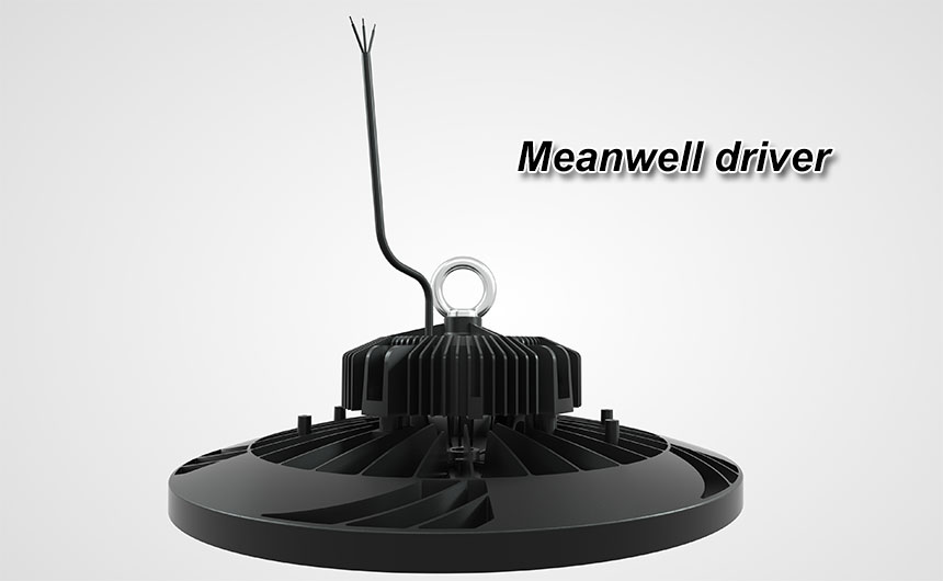 140lm/w 200w meanwell driver lumileds 3030 ufo led high bay light show
