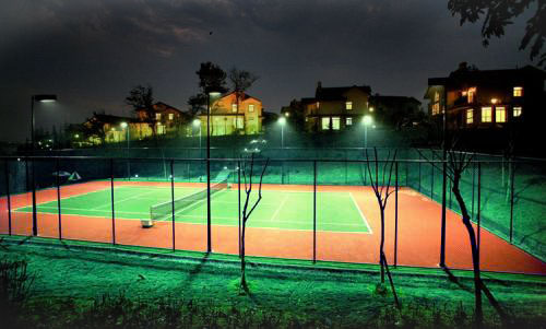 led tennis court lighting fixtures