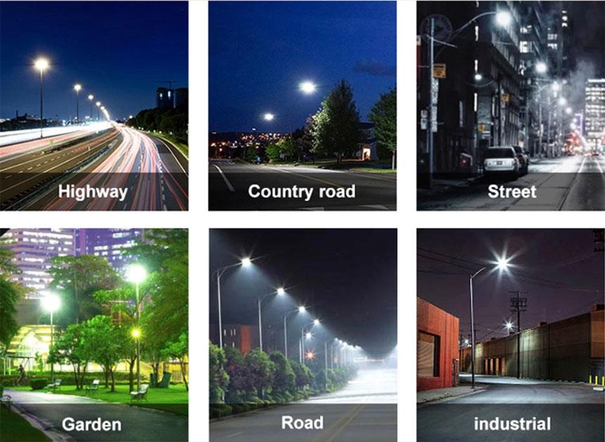 50w 150lm/w venus led street lighting application