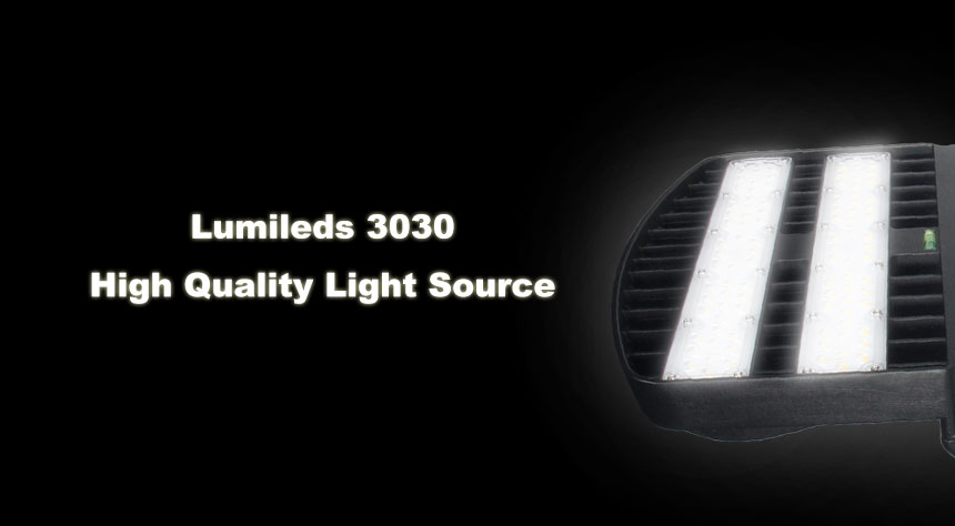 120W led street light using philips lumileds 3030 high quality light source