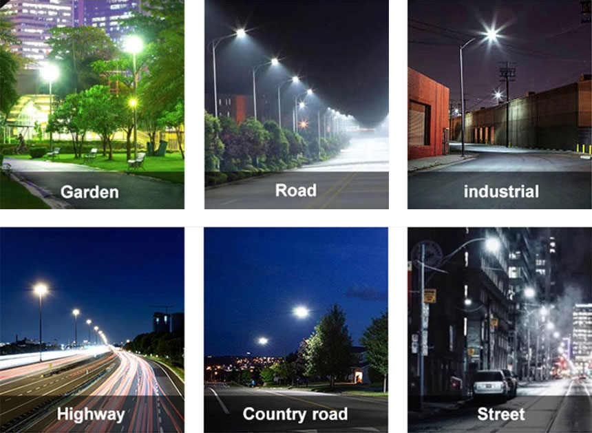150w venus led street light Range of application