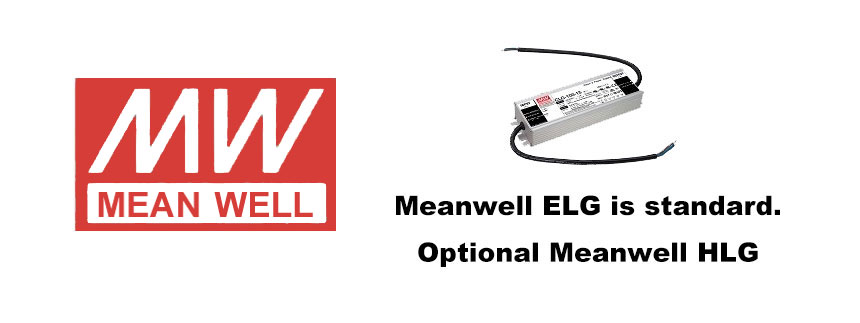 led street light optional Meanwell power supply